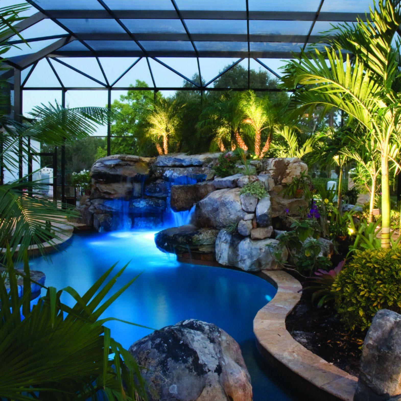 naples garden landscaping poolside garden